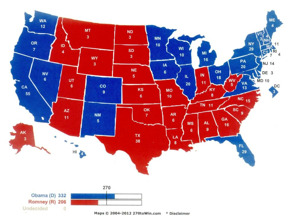 Latest 2012 Presidential Polls – 9 Oct 12 Edition (2/2)
