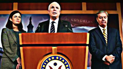mccain graham hold benghazi press conference