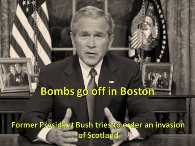 Bombs go off in Boston