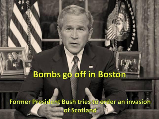 Bombs go off in Boston