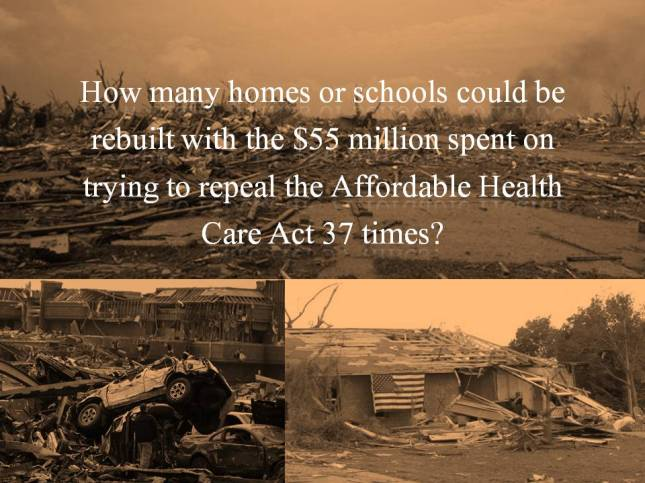 How many homes or schools could be rebuilt