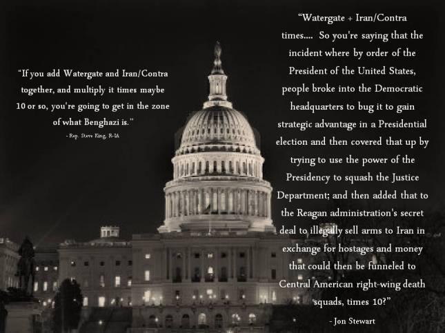 If you add Watergate and Iran