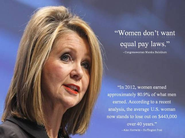 Women don't want equal pay laws