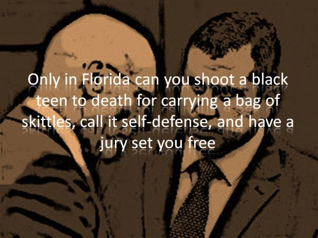 Only in Florida can you shoot a black