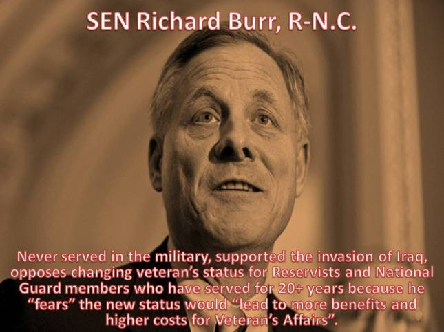 SEN Richard Burr, R-N