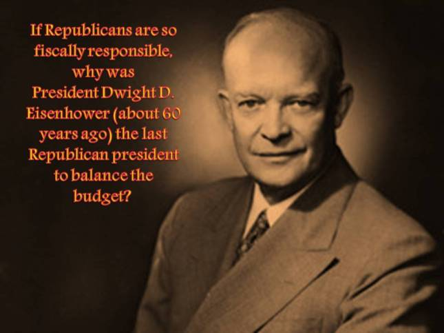If Republicans are so fiscally responsible, why