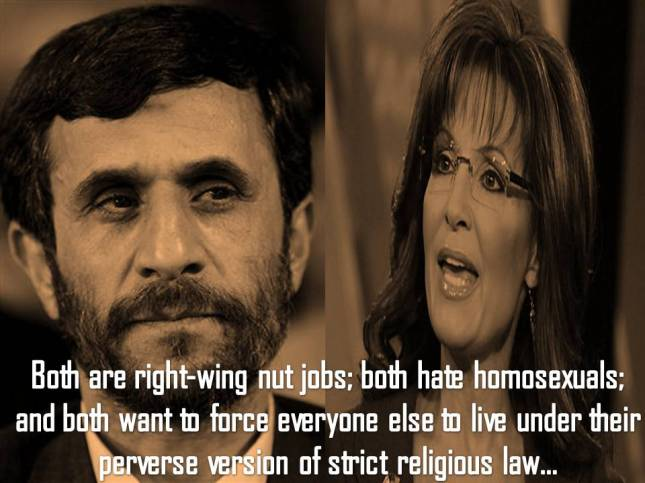 Both are right-wing nut jobs