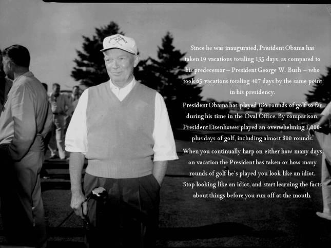golfing presidents