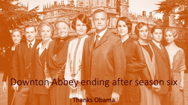 Downton Abbey ending after season six