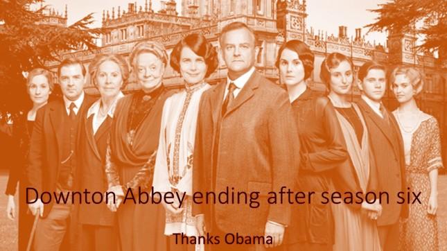 Downton Abbey ending after season six