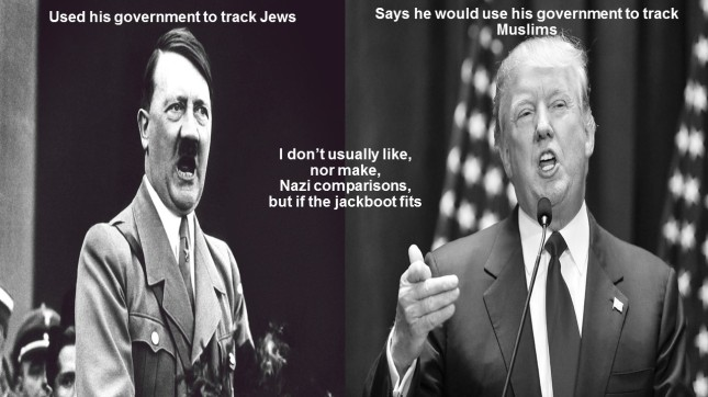 Used his government to track Jews