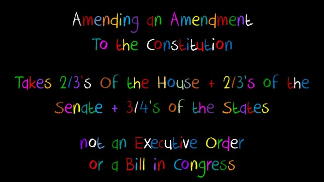 amending an amendment